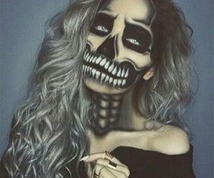 Halloween, halloween makeup ideas, and halloween make up image