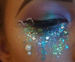 fantasy, make up, and mermaid image