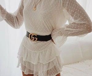 dress, fashion, and gucci image