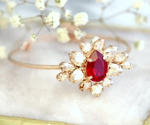 bling, bracelet, and bridal jewelry image