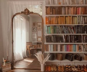 books, decor, and design image