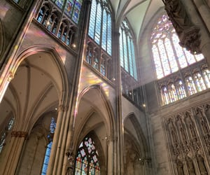 church, cologne, and colours image