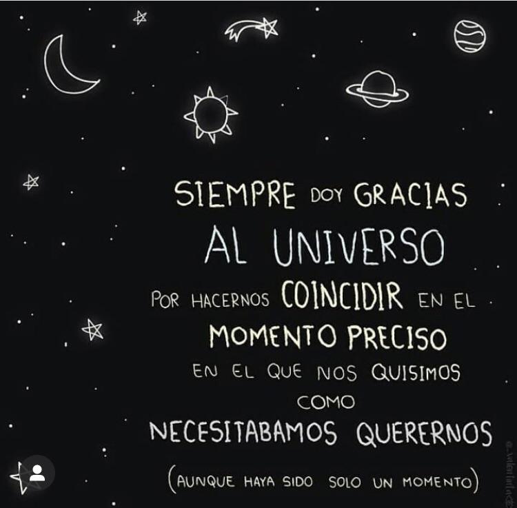 Muchas Gracias Universo Por Traerlo A Mi Vida