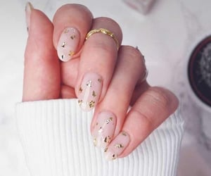 nails, soft, and cute image