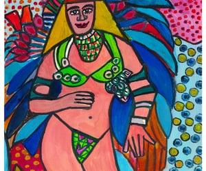 artwork, brasil, and illustration image