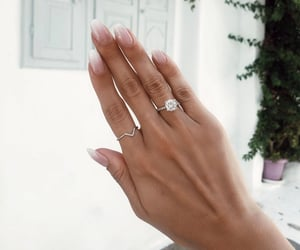 classy, elegant, and engagement ring image