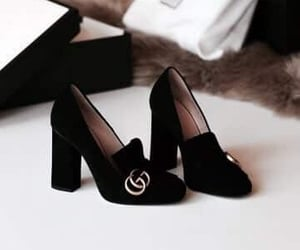 shoes, fashion, and gucci image