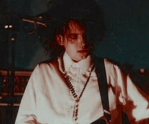 80's, goth, and the cure image