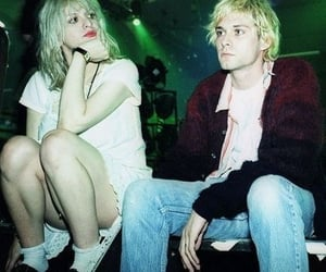 couple, love, and Courtney Love image