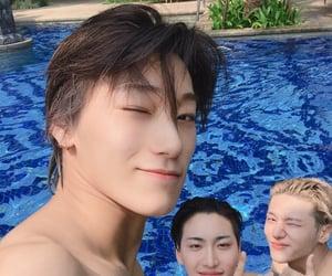 kpop, 우영, and san image