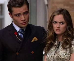 gossip girl, chuck bass, and love image