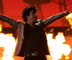 animal print, billie joe armstrong, and father of all image