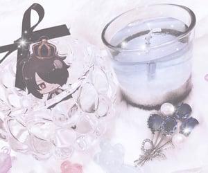 aesthetic, candle, and 白と黒のアリス image