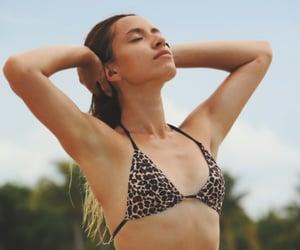 bikini, body, and nature image