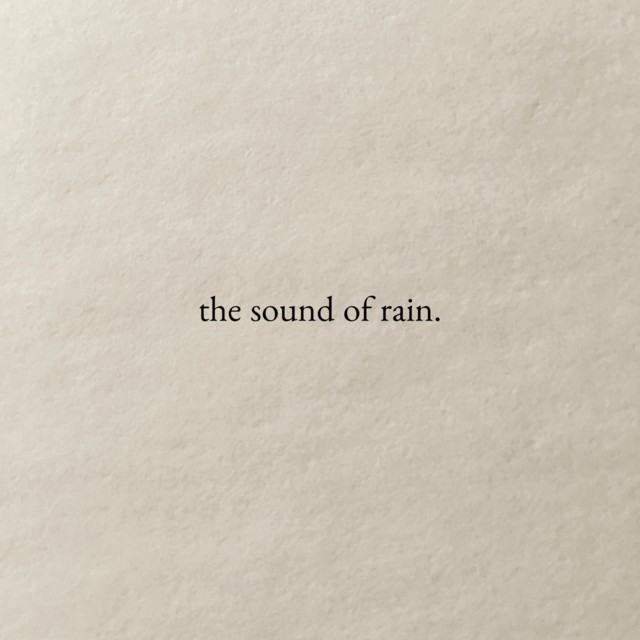 quotes, rain, and sound image