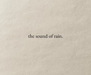 rain, quotes, and words image