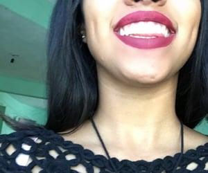 black dress, dimples, and hoyuelos image