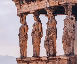 acropolis, adventure, and ancient image