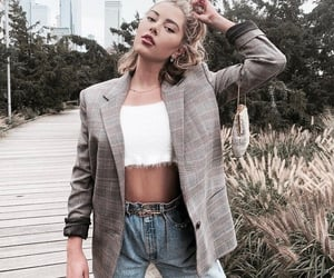 accessories, autumn, and blazer image