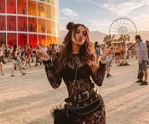 festival, coachella, and girl image
