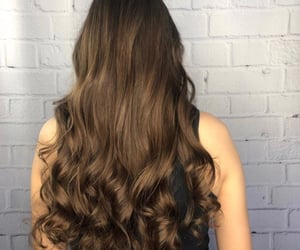 brick wall, fancy, and brunette image