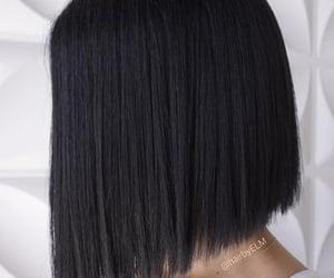 short hair, back hair, and bob hairstyle image