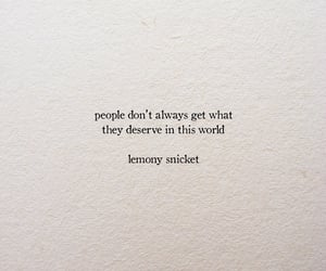 quotes, lemony snicket, and text image