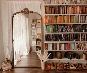 aesthetic, book, and decor image