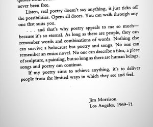 Jim Morrison, poet, and rock and roll image