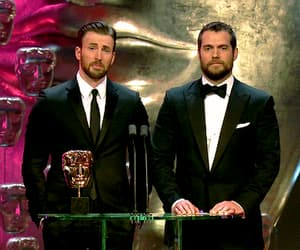 gif, chris evans, and Henry Cavill image