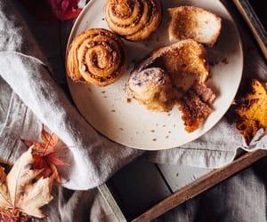 cinnamon rolls and fall image
