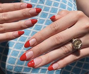fake nails, hands, and long nails image