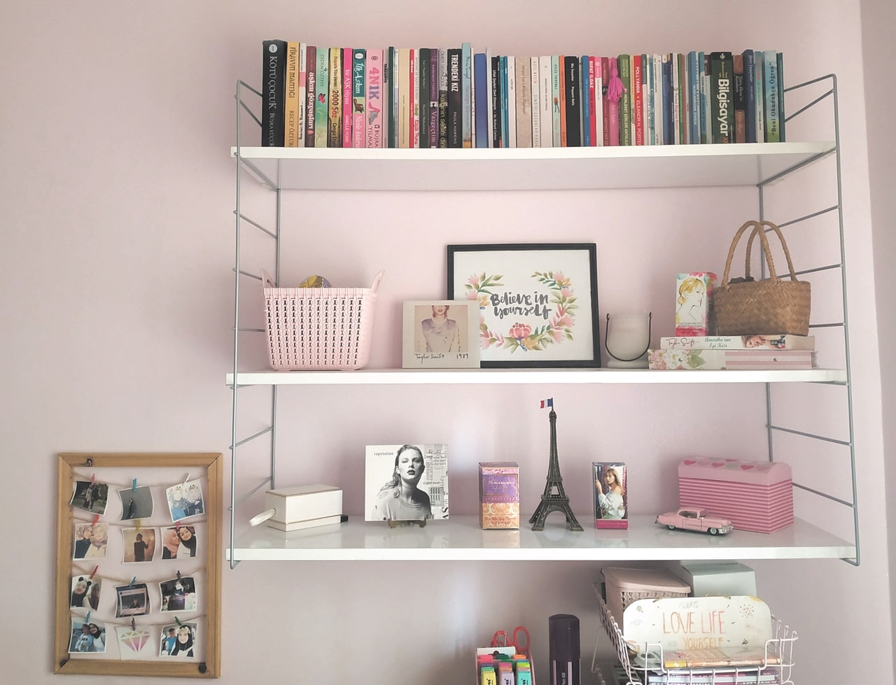 Shelf Ideas Room Decor Swiftie Aesthetic Taylor Swift
