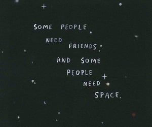 space, black, and quotes image