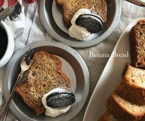 banana bread, dessert, and food image