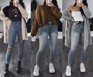 clothes, fall, and outfit image