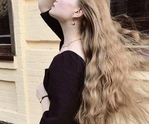 blonde hair, fashion, and short hair image