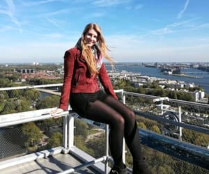 amsterdam, travel, and blue sky image