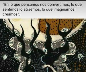 vida, pensar, and frases español image