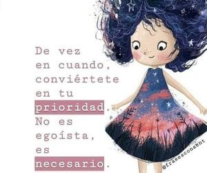 vida, prioridad, and frases español image