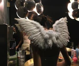 angel, girl, and model image