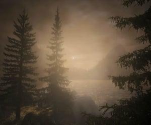 eerie, isle, and isolated image