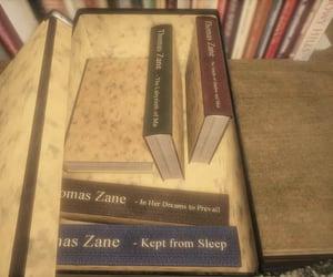 books, box, and sleep image