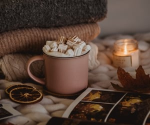 autumn, candle, and Cinnamon image