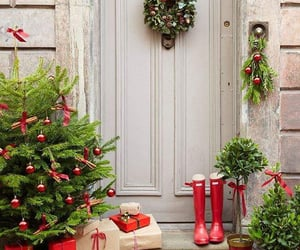 christmas, Christmas time, and red image