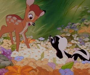 aesthetic, bambi, and deer image