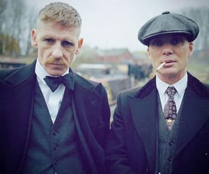 cillian murphy, paul anderson, and arthur shelby image