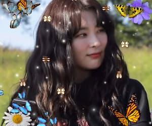 butterfly, edit, and redvelvet image