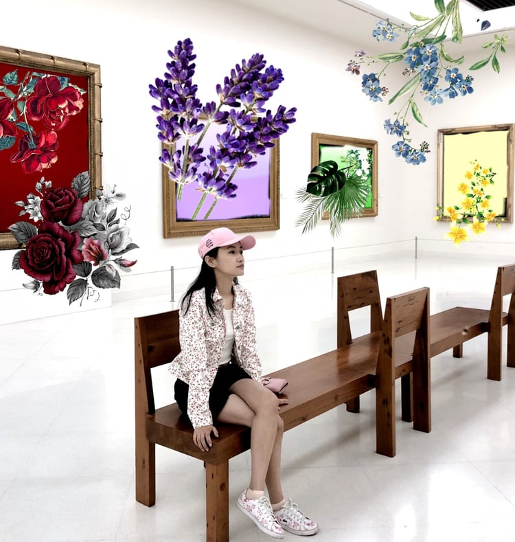 art, gallery, and life image