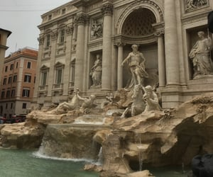 font, italy, and rome image